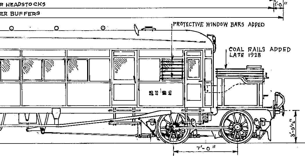 Clayton steam railcar diagram 91