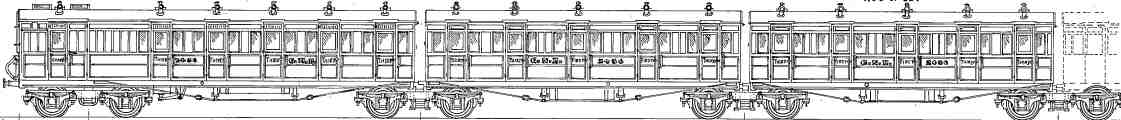 GE Section quint suburban sets